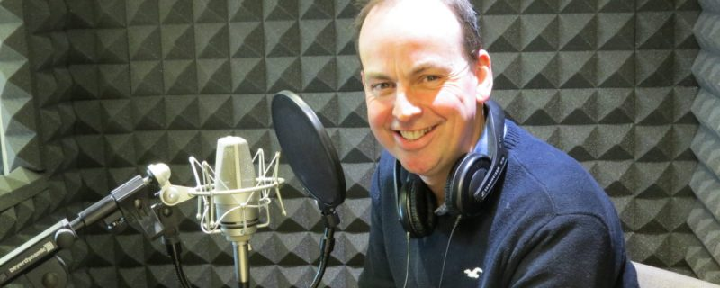 Voiceover Artist Paul Coyte